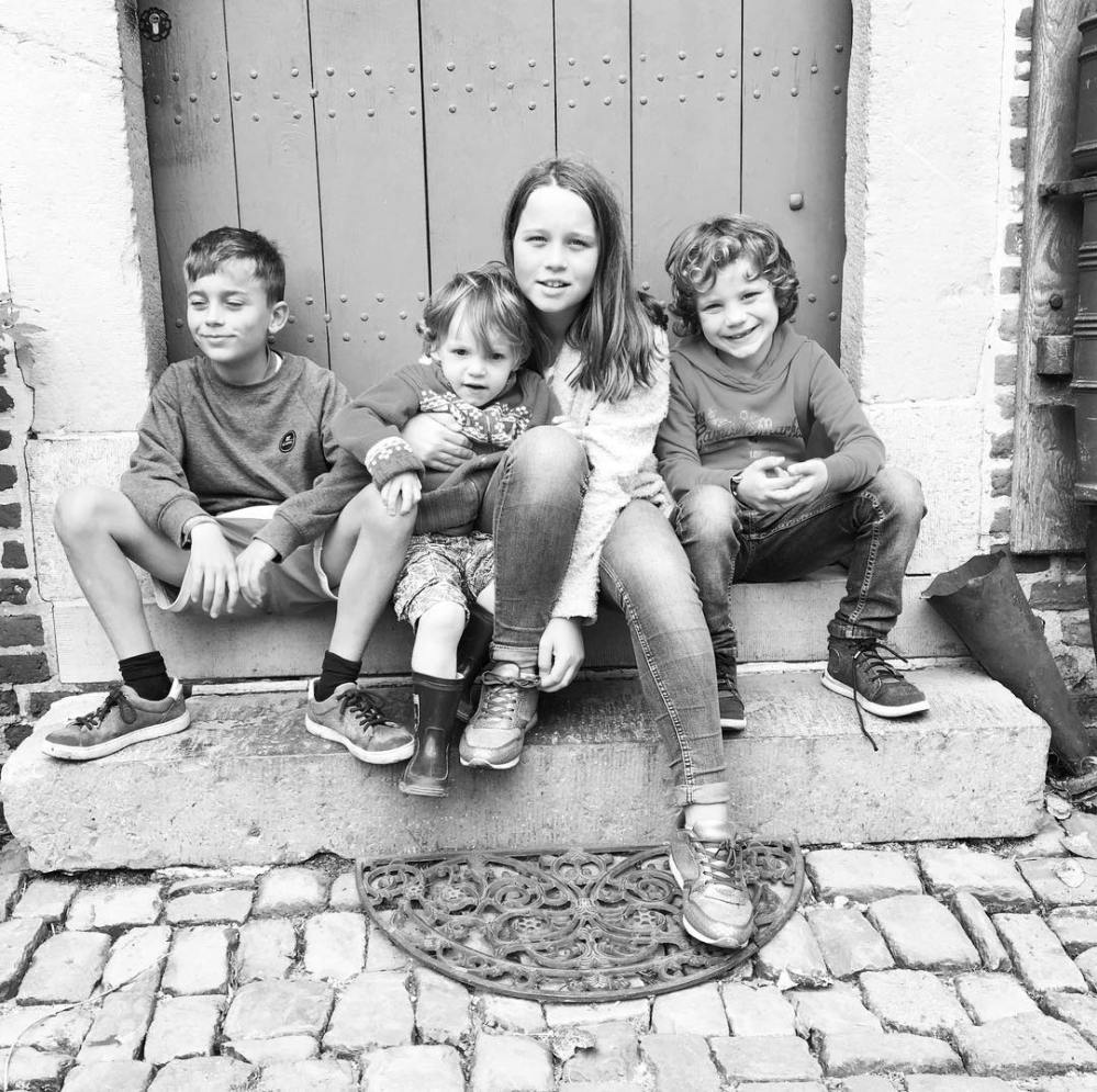 "Photos of ""Every year we take a photo in front of that door @bokrijk Reality check time flies, my kids are…"" (1)"